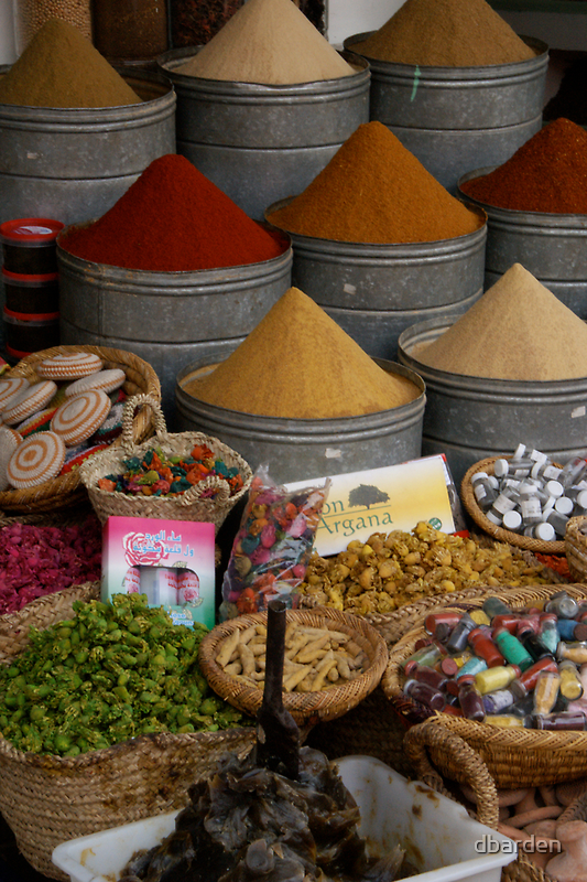 The colours of spice by dbarden
