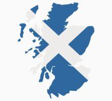 Scotland map flag One Piece - Short Sleeve