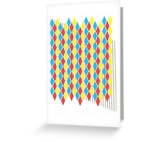 Primary Colors gear3 Greeting Card