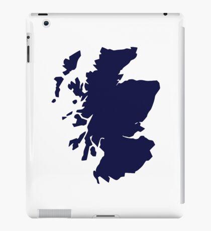 Scotland map iPad Case/Skin