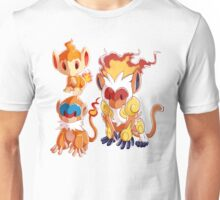 Sinnoh Project - Fire Starter Trio Unisex T-Shirt