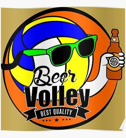 Beer Volley Poster