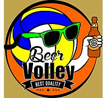Beer Volley Photographic Print