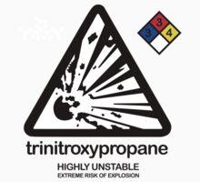 Trinitroxypropane Kids Tee