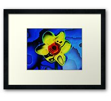 Single Yellow Daffodil Framed Print