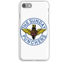 The World Famous Sunday Punchers! iPhone Case/Skin