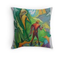 Poor Yorick! Throw Pillow