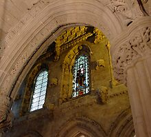 arches in Roslyn Chapel by ChuckD