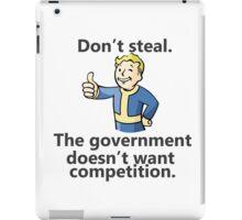 Don't Steal iPad Case/Skin
