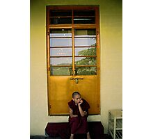 contemplation. northern india Photographic Print