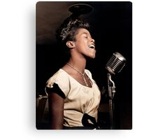 The Talented Sarah Vaughan, 1946 Canvas Print