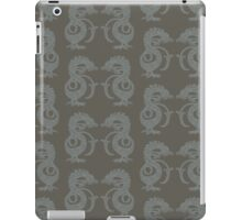 Dancing Dragons - Bronze & Silver iPad Case/Skin