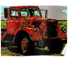 Vintage Truck Poster