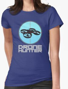 Drone Hunter Womens Fitted T-Shirt