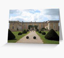 Cognac Castle Front Aspect Greeting Card