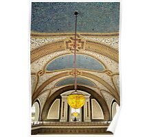 Tiffany Dome at Marshall Fields - Chicago Poster