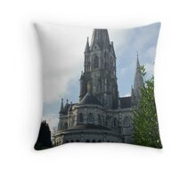 St Finbars Cathedral Cork Throw Pillow