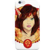Warrior Elf iPhone Case/Skin