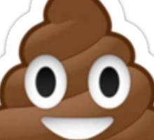 Poop emoji sticker Sticker