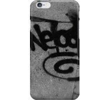 Graffiti Sidewalks iPhone Case/Skin