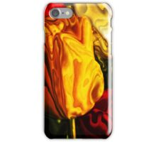 Yellow and Red Tulips iPhone Case/Skin