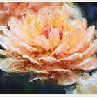 Impressionist Style Water Lily - Lotus - Zen Art - Impressionism by traciv