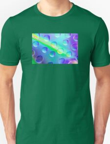 Abstract Psychedelic Drops Unisex T-Shirt