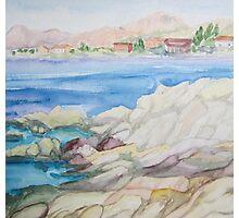Watercolor landscape Photographic Print