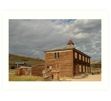 School House at Bodie State Historic Park Art Print