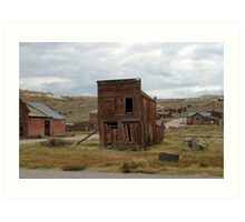 Swazey Hotel at Bodie State Historic Park Art Print