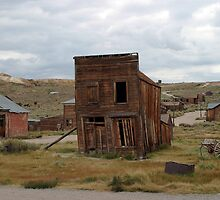 Swazey Hotel at Bodie State Historic Park by Olga Zvereva