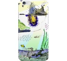 Ocean Depths Colour iPhone Case/Skin