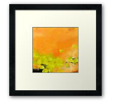 i can't turn off my thoughts... Framed Print
