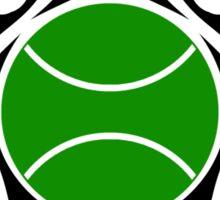 tennis tribal Sticker