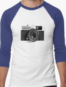 Olympus Trip 35 Classic Camera Men's Baseball ¾ T-Shirt