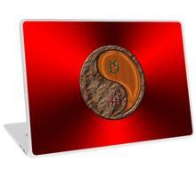 Taurus & Tiger Yang Wood Laptop Skin