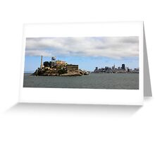 Alcatraz, San Francisco Greeting Card