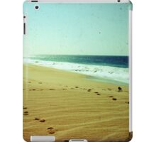 BEACH BLISS - Footprints iPad Case/Skin
