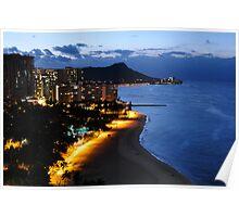Waikiki By Night Poster