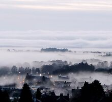 Freezing Fog in the Valley by Braedene
