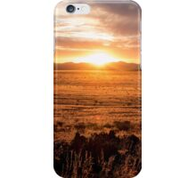 Sunset Over the Namib Desert iPhone Case/Skin