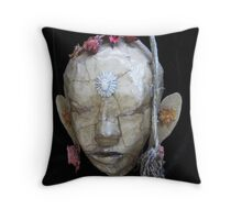 My Friend from Nepal Throw Pillow