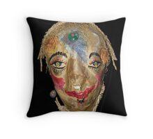 Wisdom Woman Throw Pillow