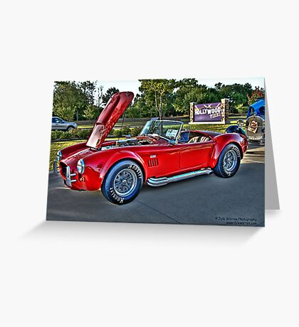 Classic Auto Series # 8 Greeting Card