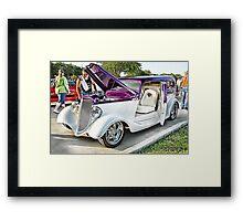 Classic Auto Series # 19 Framed Print