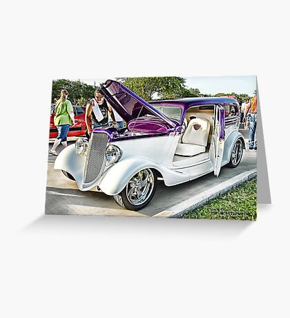 Classic Auto Series # 19 Greeting Card