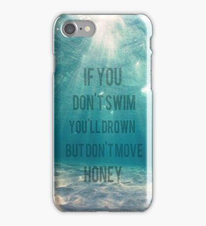 SLSP 5sos Lyrics iPhone Case/Skin