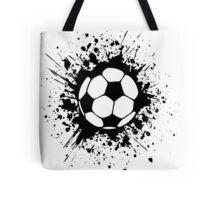 futbol : soccer splatz Tote Bag