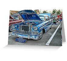 1956 Chevy BelAir Classic Auto Series # 13 Greeting Card