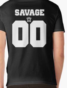 Savage Jersey Mens V-Neck T-Shirt
